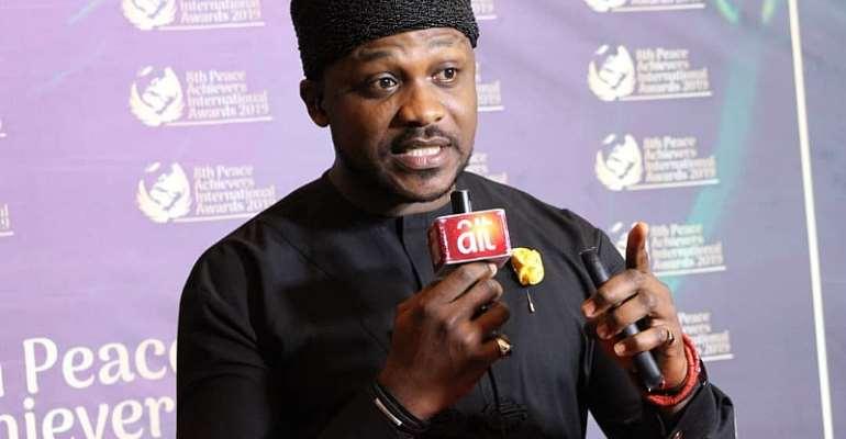 Nollywood Actor Chuks Chyke Joins World Renowned Peace Ambassadors AtThe 2019 Peace Achievers International Awards