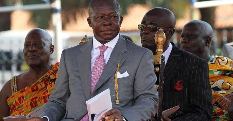 Mahama Is No Classmate of Otumfuo Osei-Tutu