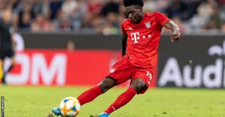 Alphonso Davies: The Bayern Munich Winger Born In A Refugee Camp