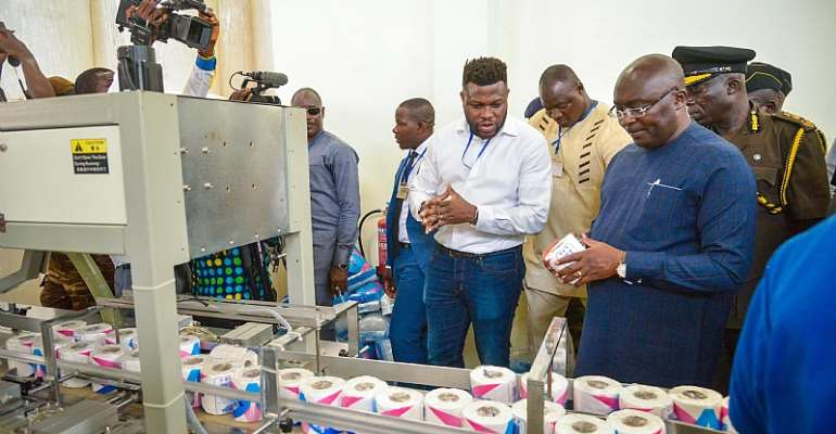 Bawumia Directs All Institutions To Purchase Toilet Roll From Locals