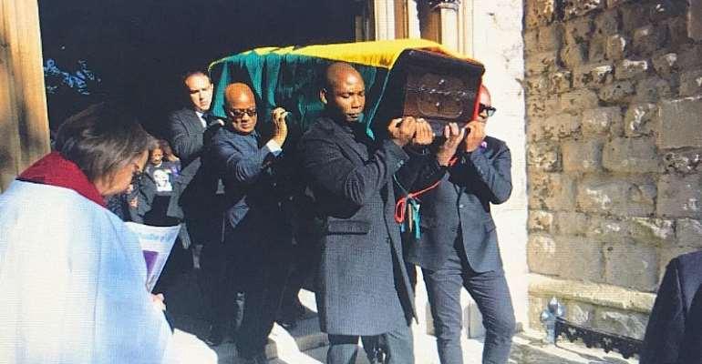 Junior Manuel Agogo Funeral In Pictures