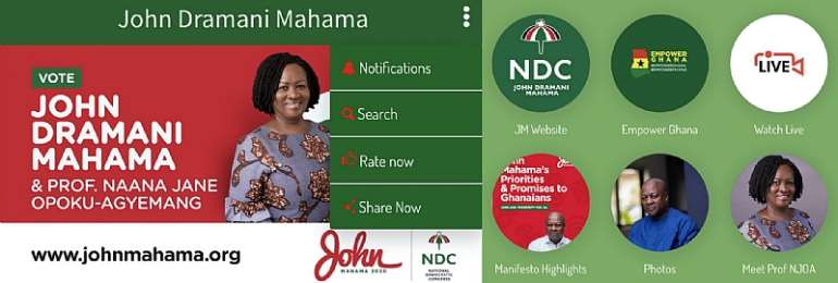 """The """"John Mahama"""" Mobile App-Did He Get It Right?"""
