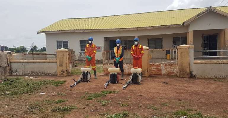 North East Region: Assemblyman Lauds Govt, Zoomlion For Disinfection Of Schools