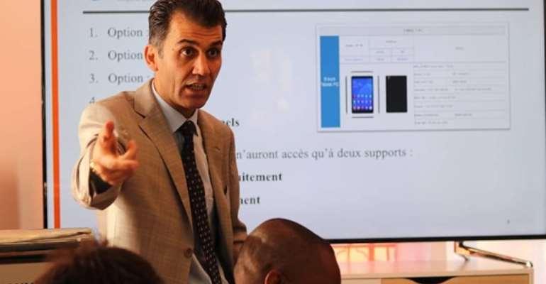 M. Djawed Sangdel, professor of Leadership and Entrepreneurship  President of Swiss UMEF UNIVERSITY - GENEVE