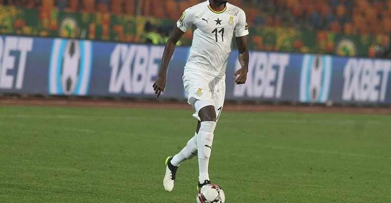 Midfielder Emmanuel Lomotey