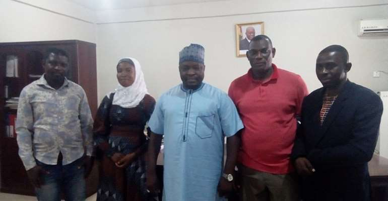 COMAS calls on outgoing Asokore Mampong MCE, commend him for support to new MCE