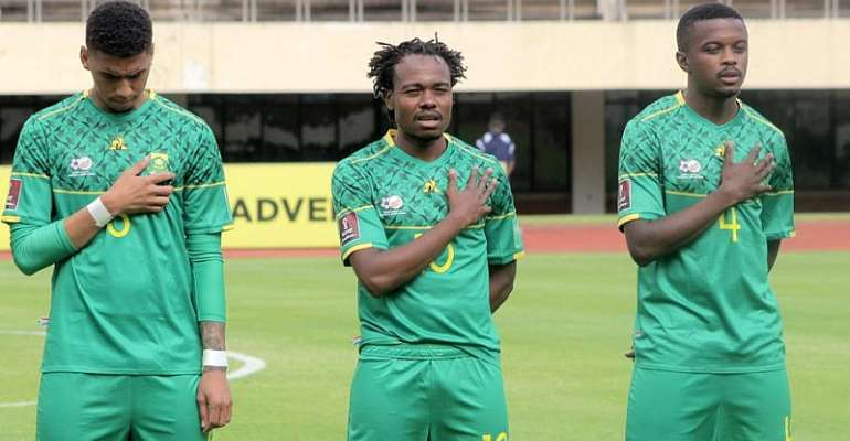 2022 WCQ: Pacy Tau out South Africa squad for Ethiopia qualifiers