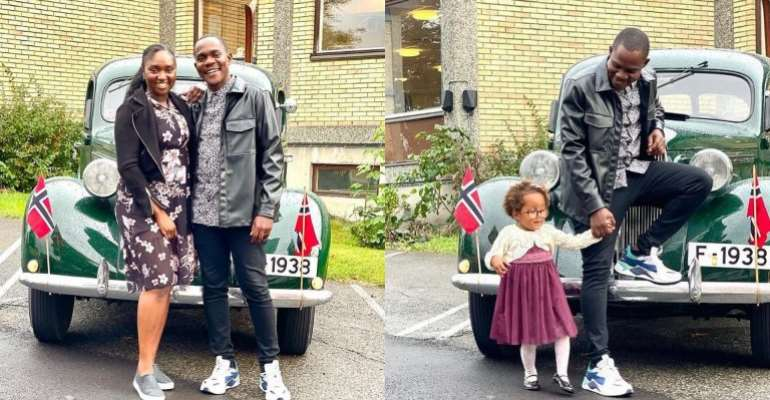 Rapper Gemini drop photos of his lovely family after a hiatus