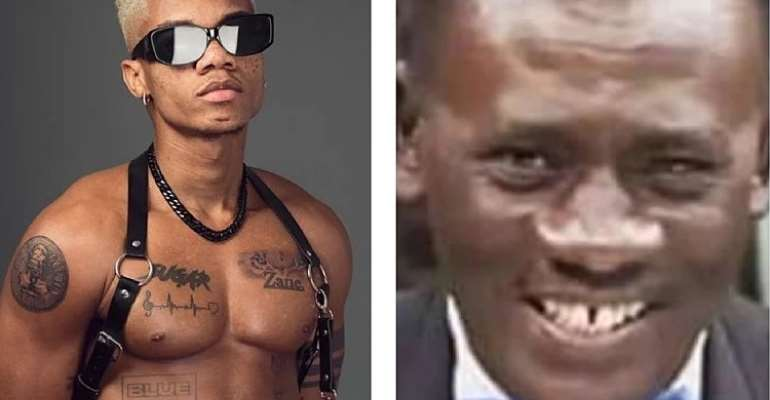 KiDi almost gets erection after vixen touches his nipples, Akrobeto mocks him