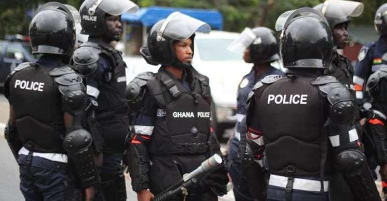 Police gun down two suspected armed robbers in gun battle at Ashaiman