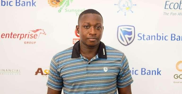 Treasurer of the Ghana Table Tennis Association, GTTA, Mr. William Asare
