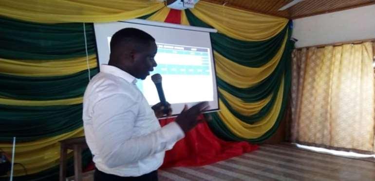 Municipal Budget Analyst Mr. Festus Bukroh