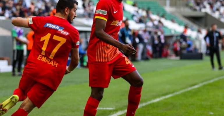 Kayserispor captain Bernard Mensah continues brilliant form to justify why Ghana's new midfield must be built around him