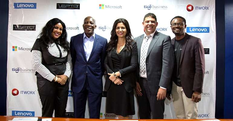 Tigo Business Partners With Microsoft, Lenovo And IT Worx To Offer SMEs A Range Of Business Solutions