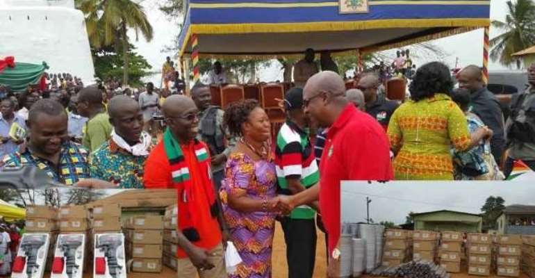NPP accuses Mahama of using public projects to buy votes