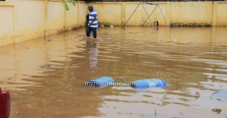 Dansoman floods in 10 pictures