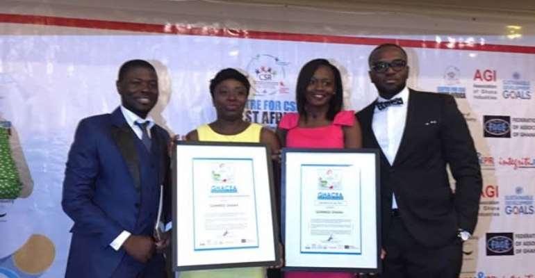 Guinness Ghana picks up two CSR awards