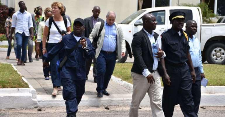 Liberian And Swedish Police In Ghana To Learn