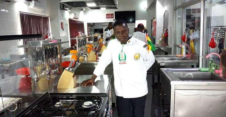 Chef Kofi Agyekum For Ghana At 2018 West Africa Food Festival