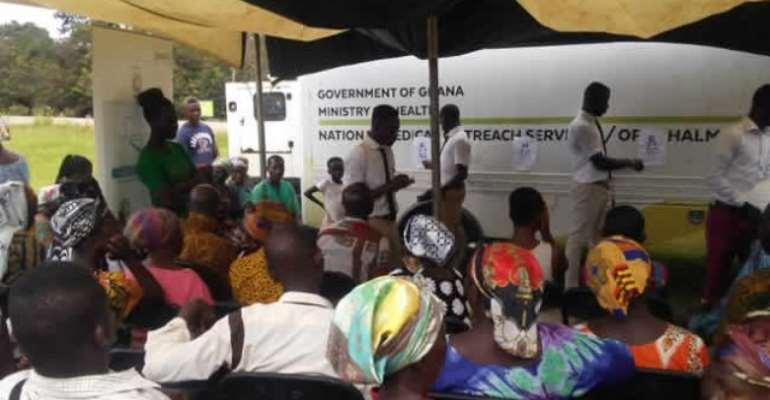 Bibiani-Anhwiaso-Bekwai MP Organises Free Health Screening For Constituents
