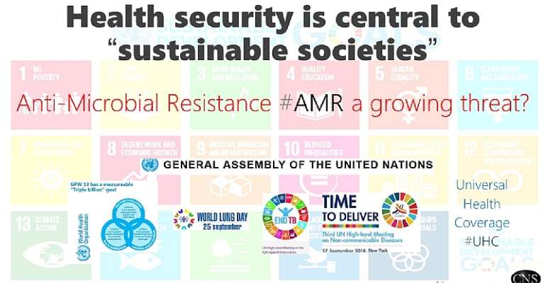 Ending Antimicobial Resistance Is The Lynchpin To #endTB As Well As Health Security