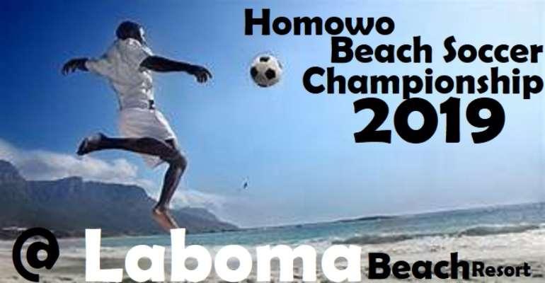 Homowo Beach Soccer Tournament Rescheduled