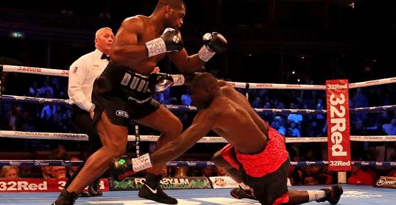 Commonwealth Heavyweight Boxing: Ghanaian Boxer Suffers 1st Round KO Against Daniel Dubois
