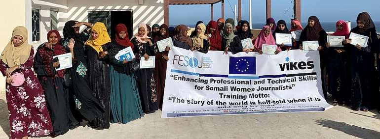 EU Supports Workshop For Somali Women Journalists In Mogadishu