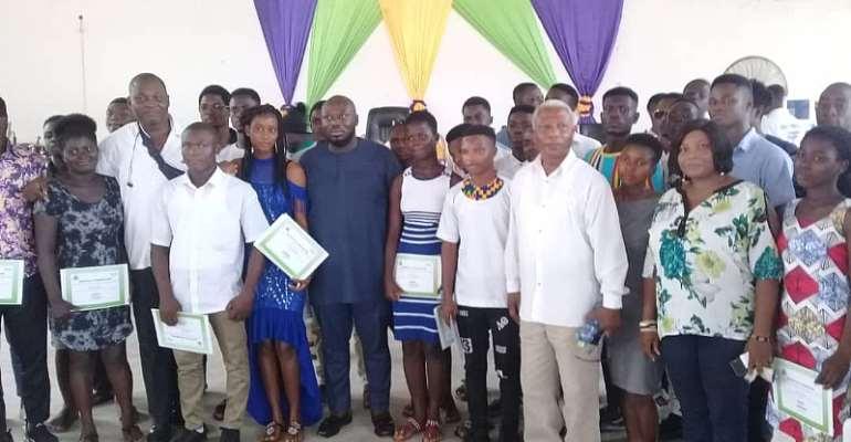 Tema West NDC Youth Organizer Facilitates Youth Entrepreneurship Training
