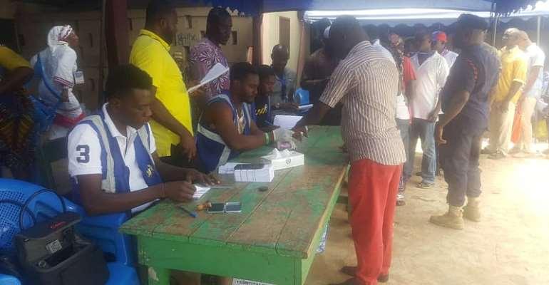 NPP Primaries: Party Agents Delay Ashaiman Polls