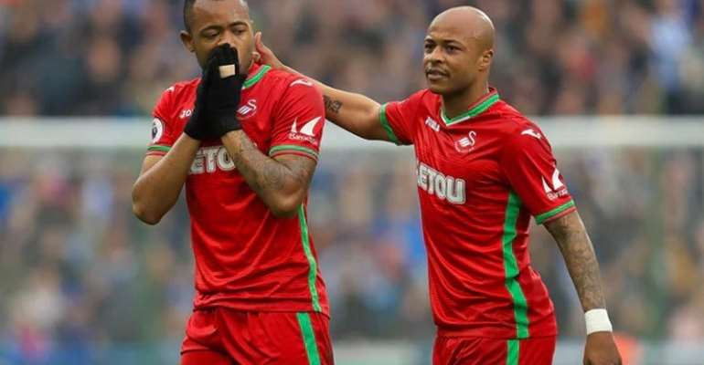 Andre Ayew Relishing Premier League Clash With Jordan Ayew