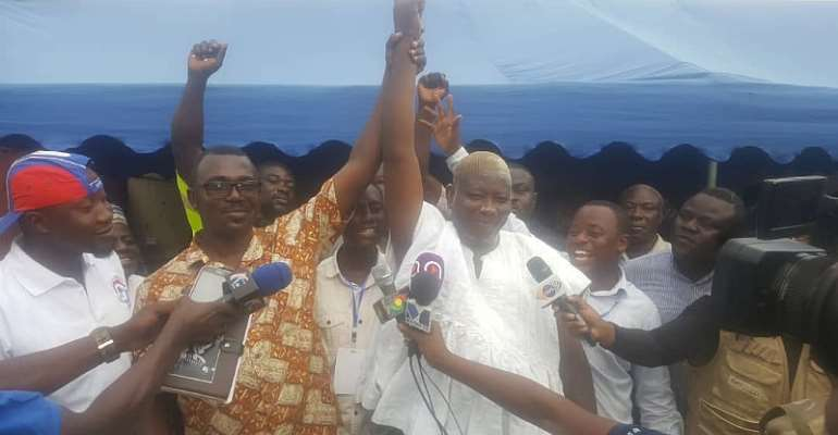 NPP Primaries:  Former Ashaiman PC Wins