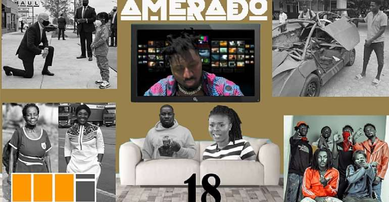Amerado Rides On An Asaaka Drill Beat To Present Yeete Nsem Episode 18