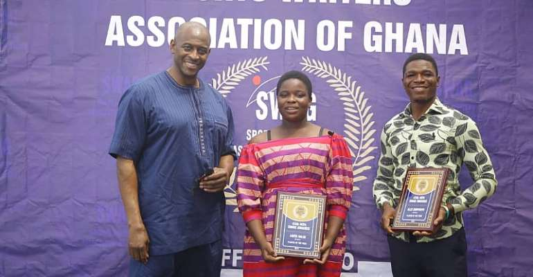 45th MTN SWAG Awards: 17-Year-Old Anita Halm And Alex Dorpenyo Crowned Best GhanaRugby Players