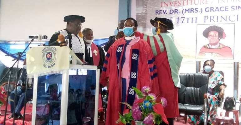 Agogo Presbyterian Women's College Of Education Inducts 17th Principal Into Office