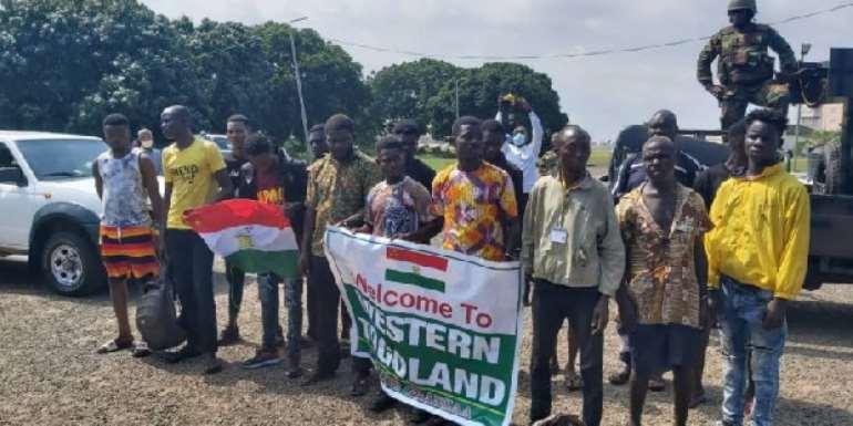 Western Togoland: Accounts Expose Gov't