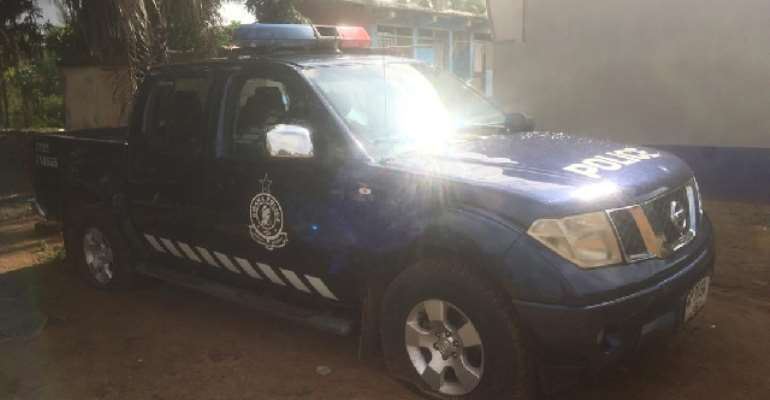 V/R: Two Police Vehicles, One AK-47 Retrieved From Secessionists