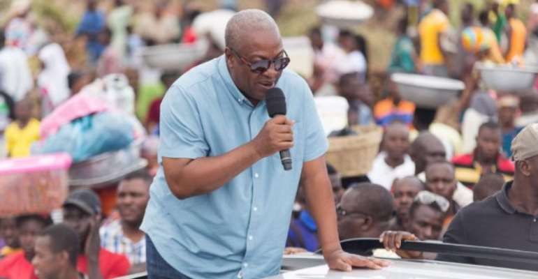 Mahama Resumes Bono Region Tour Today