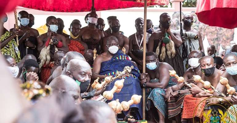 Asanteman Will Remember Your Good Works On December 7 – Otumfuo Tells Akufo-Addo