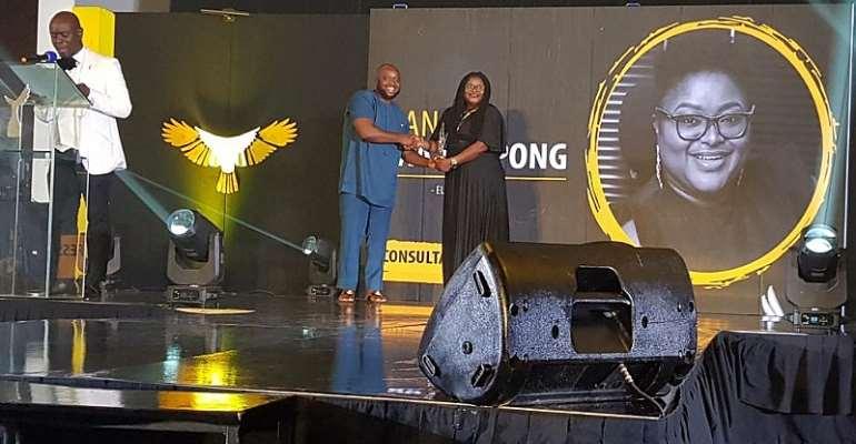 Media Guru Nana Yaa Serwaa Sarpong Honoured At 40 Under 40 Awards