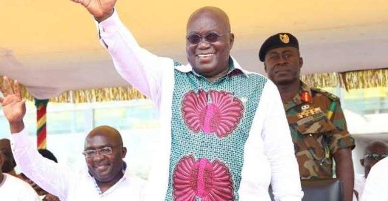 I've Given Ashanti Region 1,824 Projects – Akufo-Addo