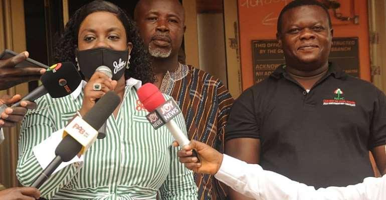 Obuobia 'Begs' Tina Mensah For A Debate In Weija-Gbawe