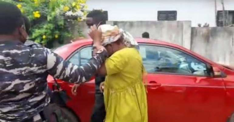 Takoradi 'azaaa' woman still in custody as she fails to meet bail conditions