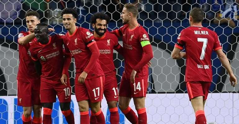 UCL: Salah, Firmino shine as Liverpool honour Hunt with Porto rout