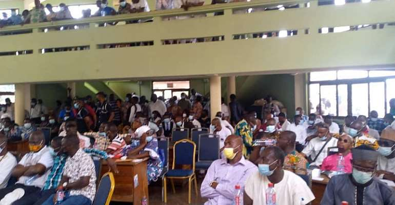 Cape Coast Assembly rejects President's nominee
