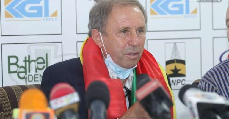 I hope to win trophies with Black Stars, says ambitious Milovan Rajevac