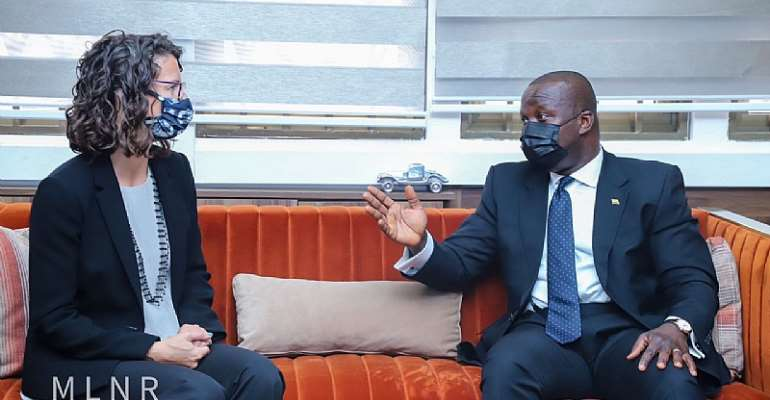 Ghana-UK to enhance collaboration to fight climate change effects — Lands Minister