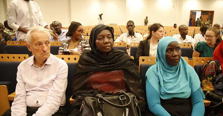 Relatives of the victims at Hissene Habre's 2015 trial in Dakar, Senegal  - Source: