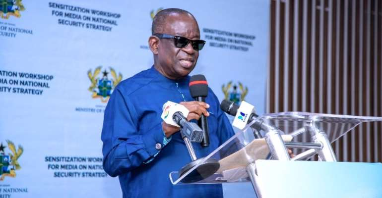 National Security Minister cautions media to stop sensational security stories