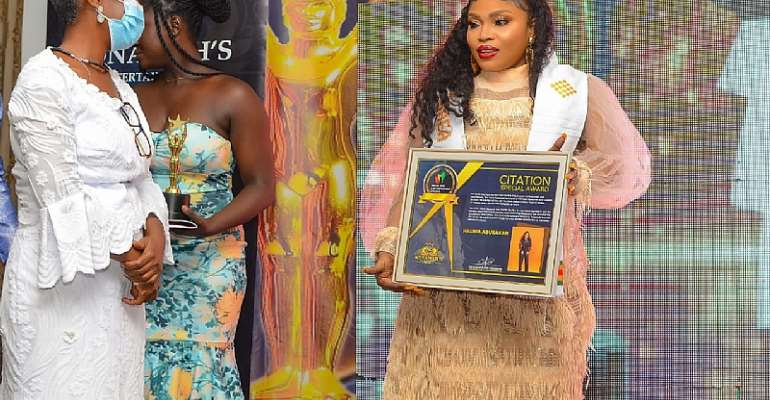 Nollywood actress Halima Abubakar receives Special Award at TGAEA